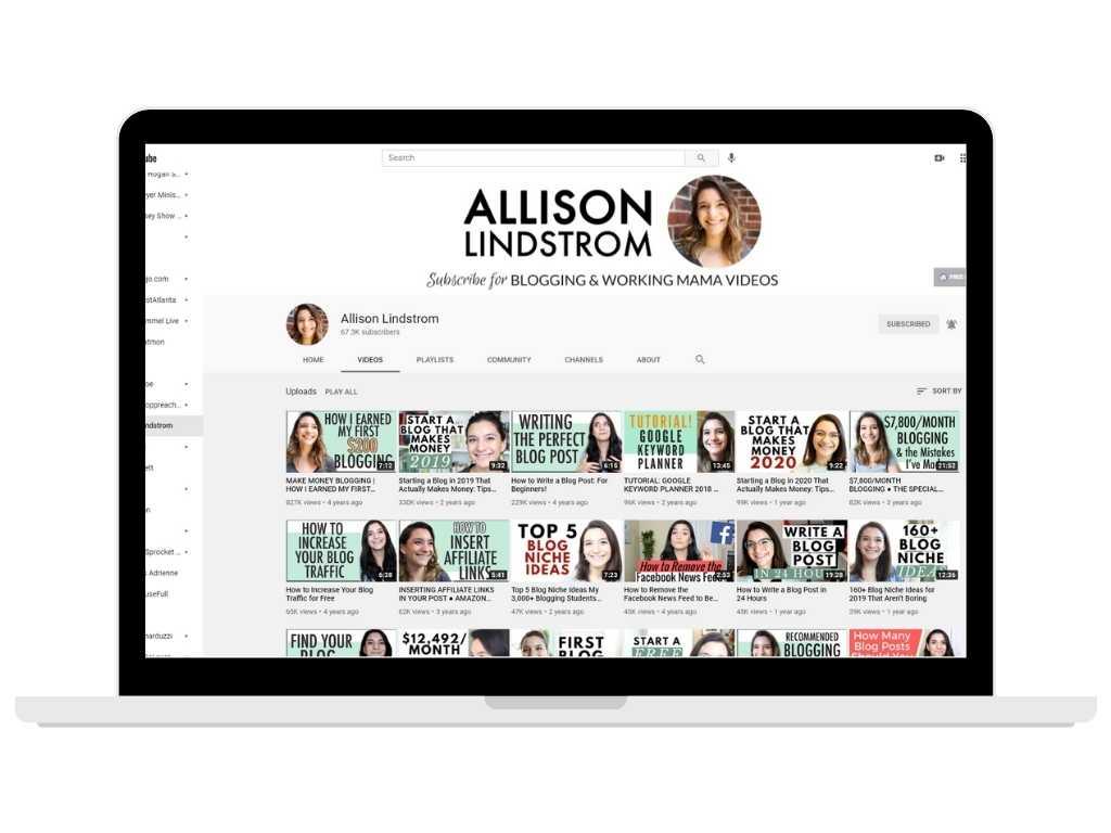 Allison Lindstrom - work at home mom blogs