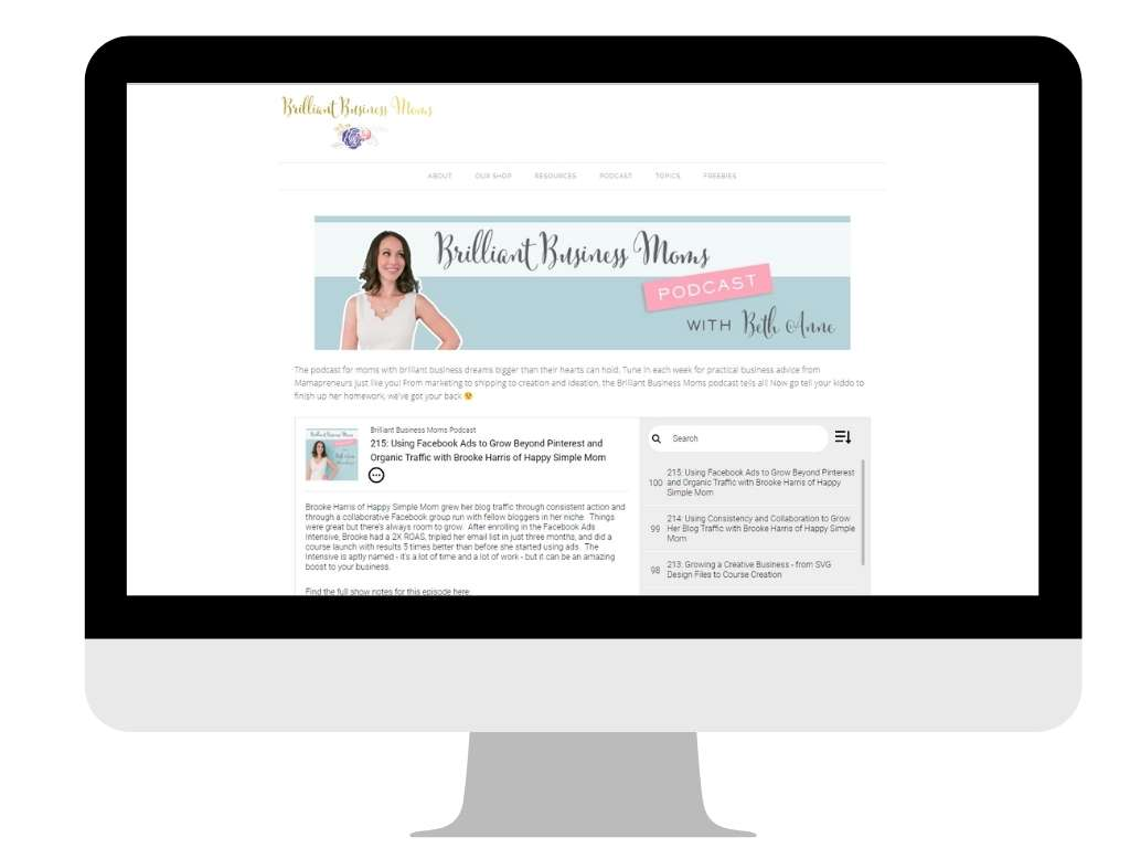 Brilliant Business Moms - favorite work at home mom blogs