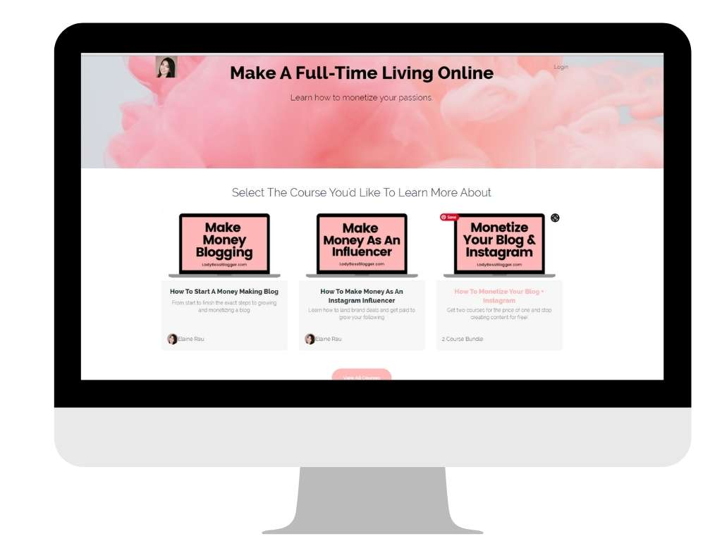 Lady Boss Blogger - work at home mom blogs
