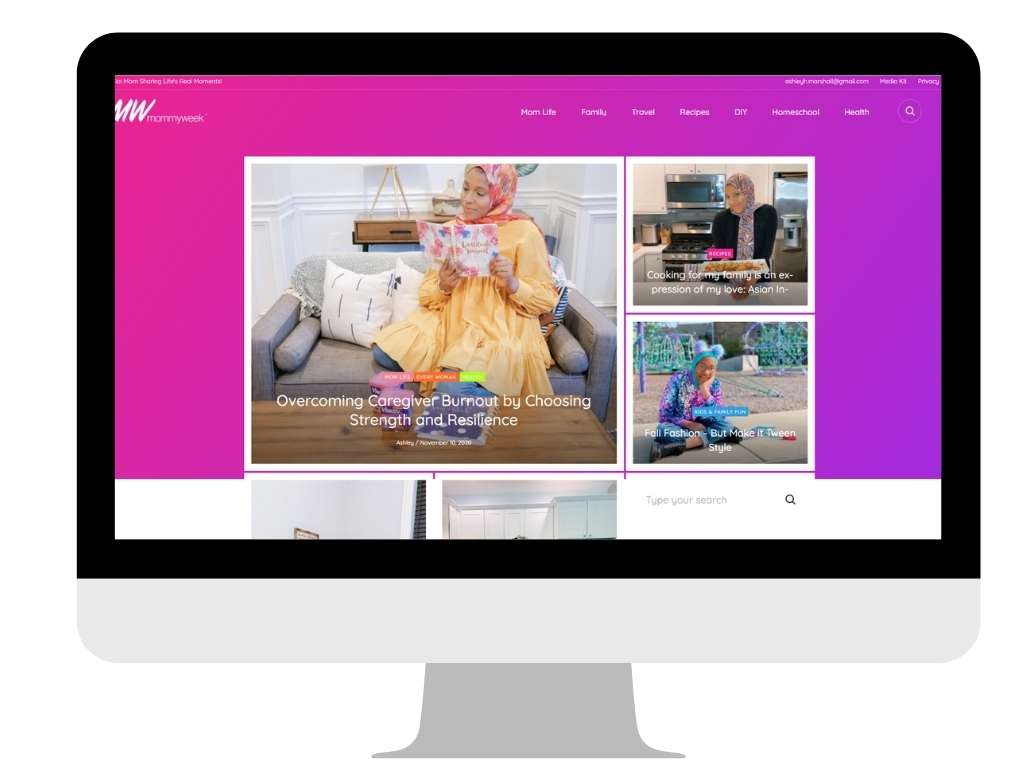 SAHM blog examples