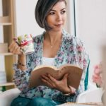 woman with book - virtual assistant guide